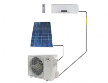 Ductless Mini Split Systems-Single Zone-Wall Mount-DC Inverter Solar PV, Up To 32 SEER (56) Series